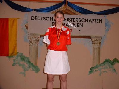 Deutsche Jugendmeisterschaften auf Dreibahnen 2003 in ...